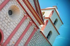 Santa Barbara Mission - California, U.S.A. Fotografie Stock Libere da Diritti