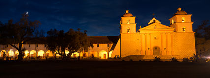 Santa Barbara Mission. Royalty Free Stock Photos
