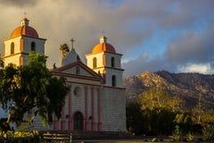 Santa Barbara Mission Royalty Free Stock Image