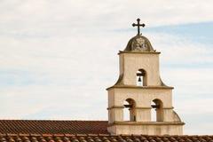 Santa Barbara Mission. The Spanish historic Santa Barbara Mission in California Stock Photography