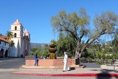 Santa Barbara mission Royalty Free Stock Photos