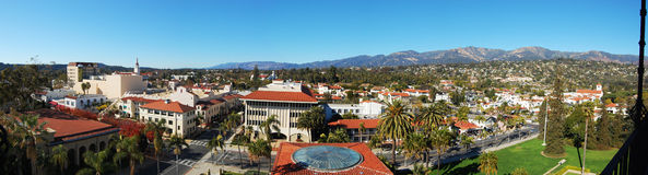 Santa Barbara north paranoma Royalty Free Stock Photography