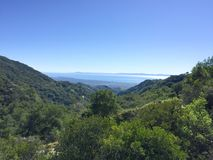 Santa Barbara ocean Royalty Free Stock Photo