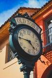 Santa Barbara Old Town Clock royalty free stock photography