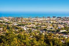 Santa Barbara Panorama Stock Photo