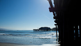 Santa Barbara Pier Royalty Free Stock Photo