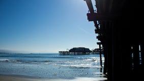Santa Barbara Pier Royalty Free Stock Photo