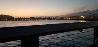 Santa Barbara Pier stock images