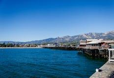 Santa Barbara-pijlermening royalty-vrije stock afbeeldingen