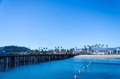 Santa Barbara-pijlermening royalty-vrije stock fotografie