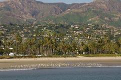 Santa Barbara Riviera, Californië stock afbeeldingen