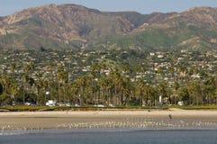 Santa Barbara Riviera, Californië stock afbeelding