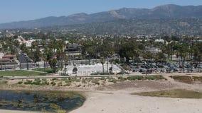 Santa Barbara Skate Park stock footage