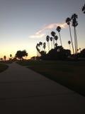 Santa Barbara Sky Imagen de archivo libre de regalías