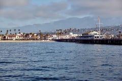 Santa Barbara Stearns Wharf stockbilder