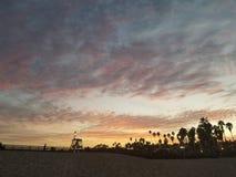 Santa Barbara Sunset 2 Arkivfoton