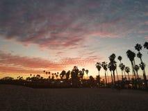 Santa Barbara Sunsets Arkivfoton