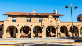 Santa Barbara Train Station Stock Images