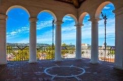 Santa Barbara. U.S.A., California, Santa Barbara, panoramic view from the Court House Royalty Free Stock Photos