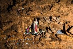 Santa Barbara in una miniera d'argento, Tarnowskie sanguinoso, sito di eredità dell'Unesco Immagine Stock Libera da Diritti