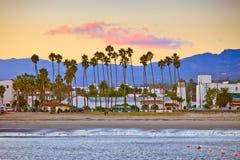 Santa Barbara vom Pier Stockfotografie