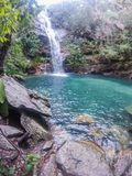 Santa Barbara Waterfall Stockfoto