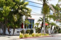 Santa Barbara wytwórnia win Smaczny pokój na Anacapa ulicie w W centrum boj strefie obrazy stock