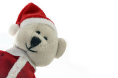 Santa bear Stock Photos