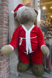 Santa Bear Royalty-vrije Stock Foto