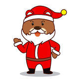 Santa Bear Royalty Free Stock Photography