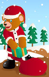 Santa bear Royalty Free Stock Photos
