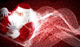 Christmas theme with santa Stock Photography