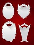 Santa Beards royalty-vrije illustratie