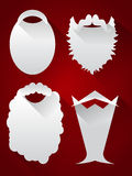 Santa Beards Arkivfoton