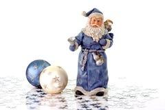 Santa bleue Images stock