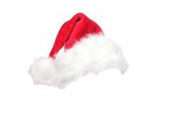 Santa bożenarodzeniowy kapelusz Obraz Stock