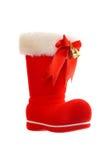 Santa boot Royalty Free Stock Photos