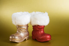 Santa Boots Stock Images