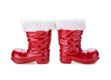 Santa boots Royalty Free Stock Image