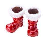 Santa boots Stock Photo