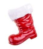 Santa boots Royalty Free Stock Photo
