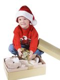 Santa boy Royalty Free Stock Photos