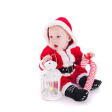 Santa boy Stock Photo