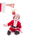 Santa boy Royalty Free Stock Images