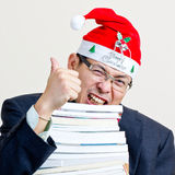 Santa businessman Stock Photos