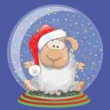 Santa cakle ilustracji