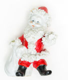 Santa Calus Figurine Lizenzfreie Stockbilder
