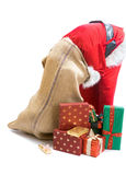 Santa cannot find a gift Royalty Free Stock Images