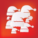 Santa cap icon. This is file of EPS10 format Royalty Free Stock Image