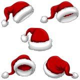 Santa Caps Stock Images